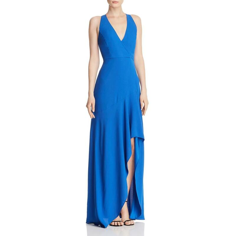 BCBGMAXAZRIA Womens Sleeveless Plunging Formal Evening Dress Gown BHFO 7229