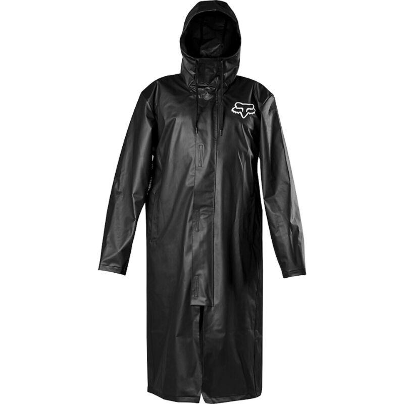 Fox Racing Pit Rain Mens Jacket Coat - Black All Sizes