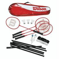 Wilson Tour 4 Player Badminton Set - wilson - ebay.co.uk