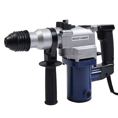 850w Electric Rotary Hammer Drill Sds Chisel Bits Demolition Kit W Case Us Ship