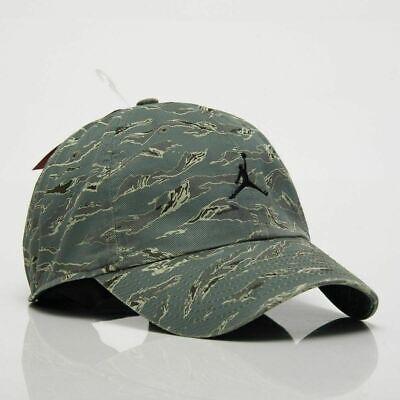 Unisex Nike Heritage 86 Jumpman Green Camo Cap Hat AV8447 323