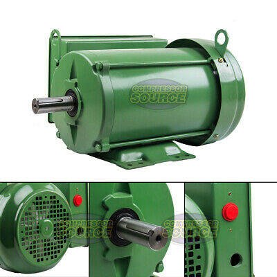 3 Hp Farm Duty Single Phase Electric Motor 1800 Rpm 184t Frame Tefc 208230 Volt