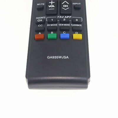 Replacement Remote Controller for GA935WJSA Sharp AQUOS LED HDTV TV LC-40LE830U  Aquos Led Hdtv
