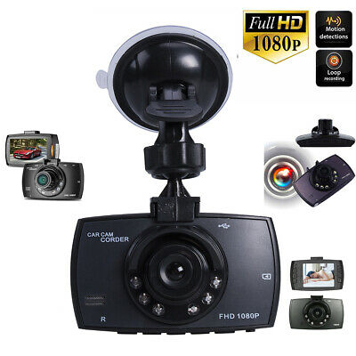 HD Camera Dash-Cam Front InCab Driving Recorder Car DVR GPS Logger G-Sensor Gift
