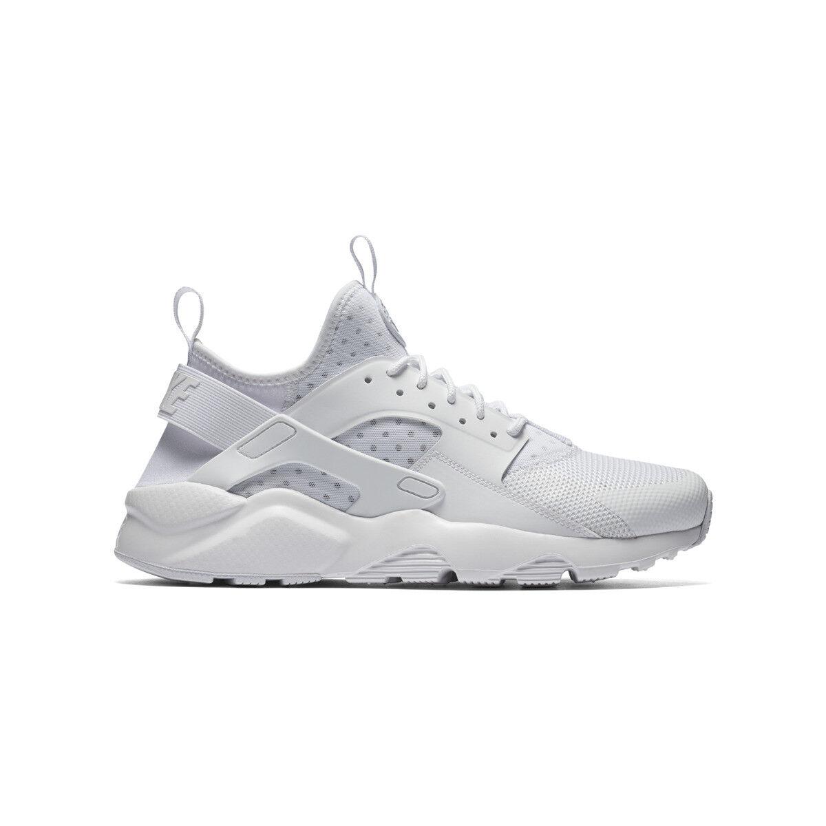 buy popular 15724 1ea3a Blanc Casual Ultra Huarache Chaussures Nike Run 45 Ebay Homme Air 0fnwFa4