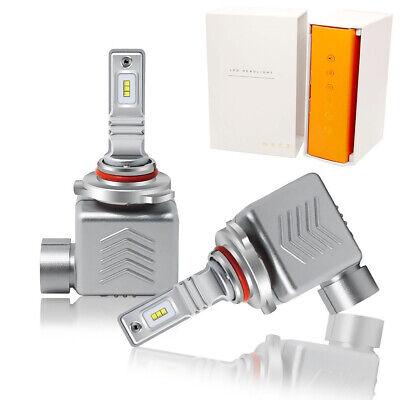 2pcs 9006 HB4 LED Headlight Conversion Kit Low Beam Lamps 80W Xenon White 6000K