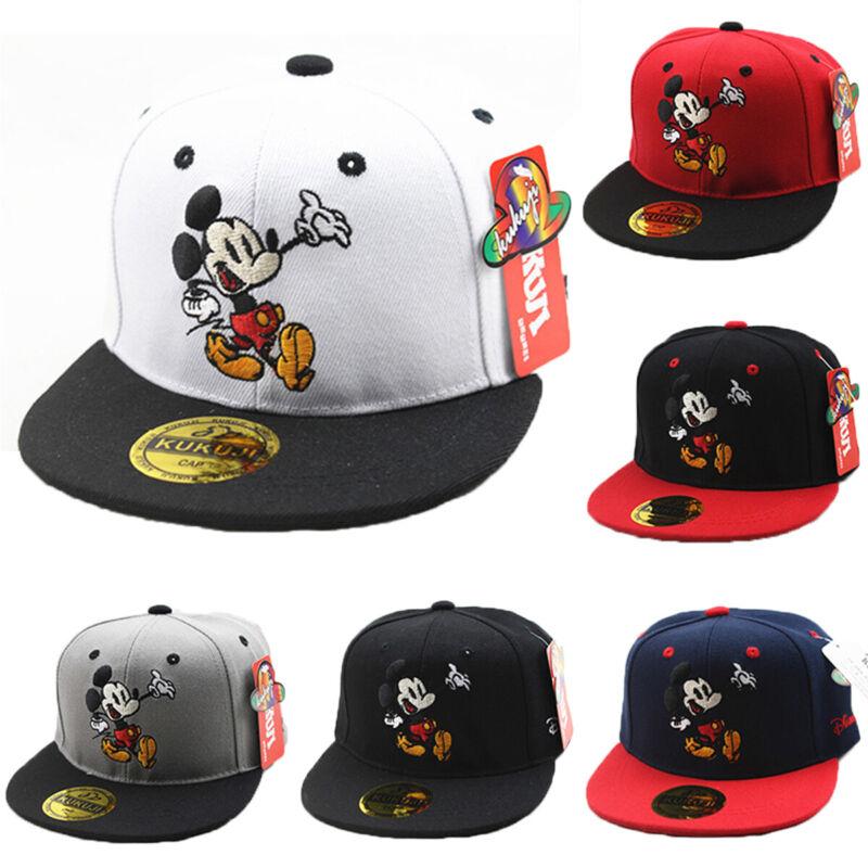 Baby Jungen Mädchen Maus Baseball Cap Snapback Hut Sonnenhut Basecap Mütze Kappe