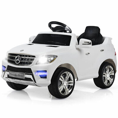 Electric Kids Ride On Car Mercedes Benz ML350 6V Licensed MP3 RC Remote Control