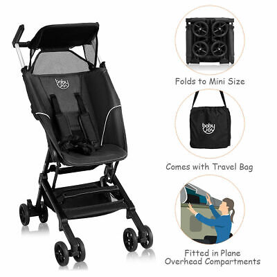 Buggy Portable Pocket Compact Lightweight Stroller Easy Hand