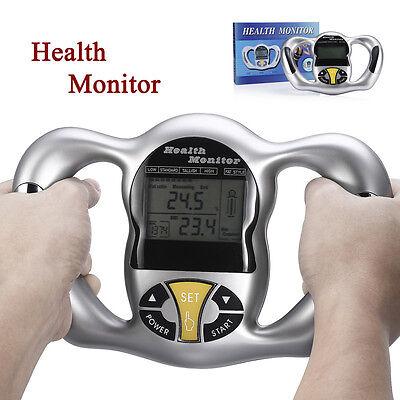Handheld Digital Body Fat Health Tester Monitor Analyzer Bmi Meter Calculator Us