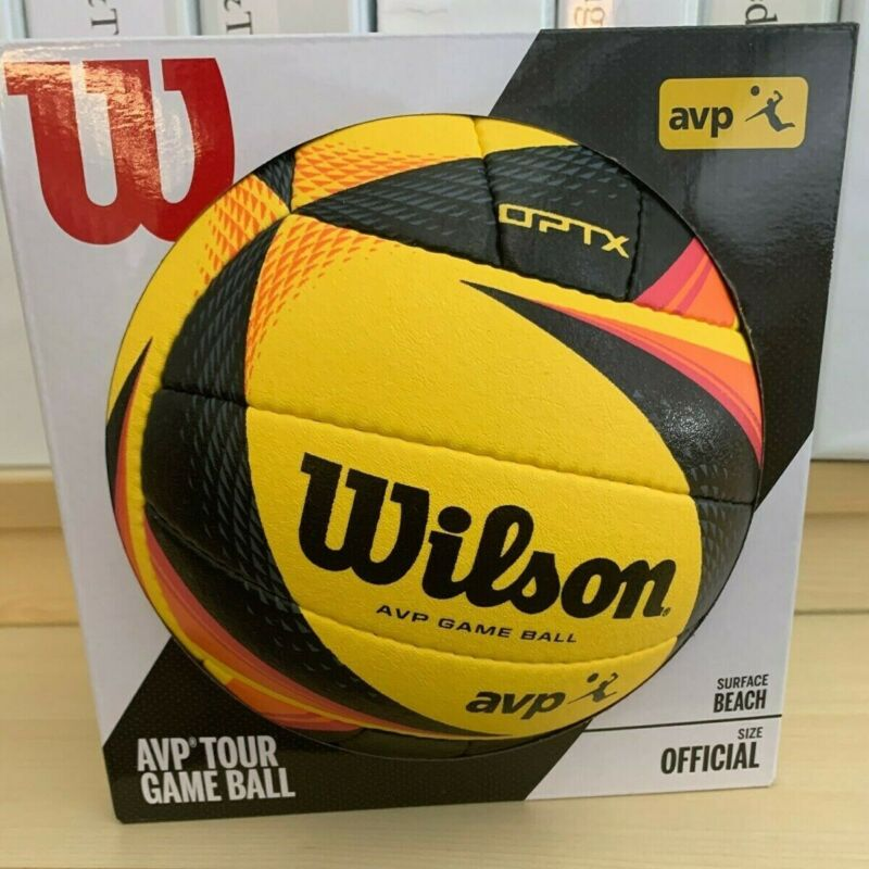 Wilson AVP OPTX Official Beach Volleyball Authentic NOT A REPLICA!