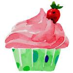 uncut 16x EDIBLE Sesame Street Elmo Birthday Cupcake Toppers Wafer Paper 4cm