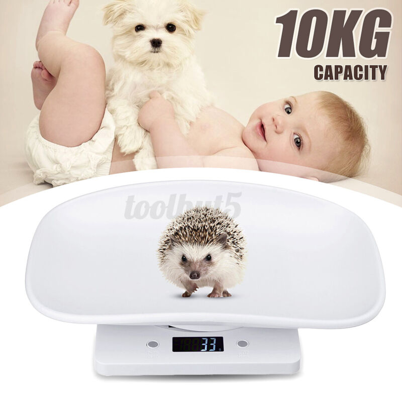 10KG Multi-function Digital Electronic Baby Pet Scale Post Kitchen Scale LCD