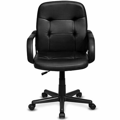 Ergonomic Mid-back Executive Office Chair Swivel Computer Desk Task Chair New
