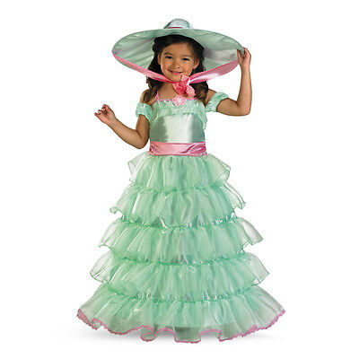 Southern Belle Kids Costume (Southern Belle Scarlett O'Hara Green Child Toddler Costume | Disguise)