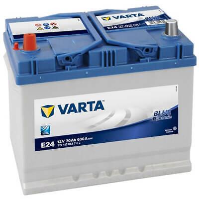 ASIA Autobatterie 12V 70Ah Varta E24 Pluspol links Starterbatterie 570 413 063