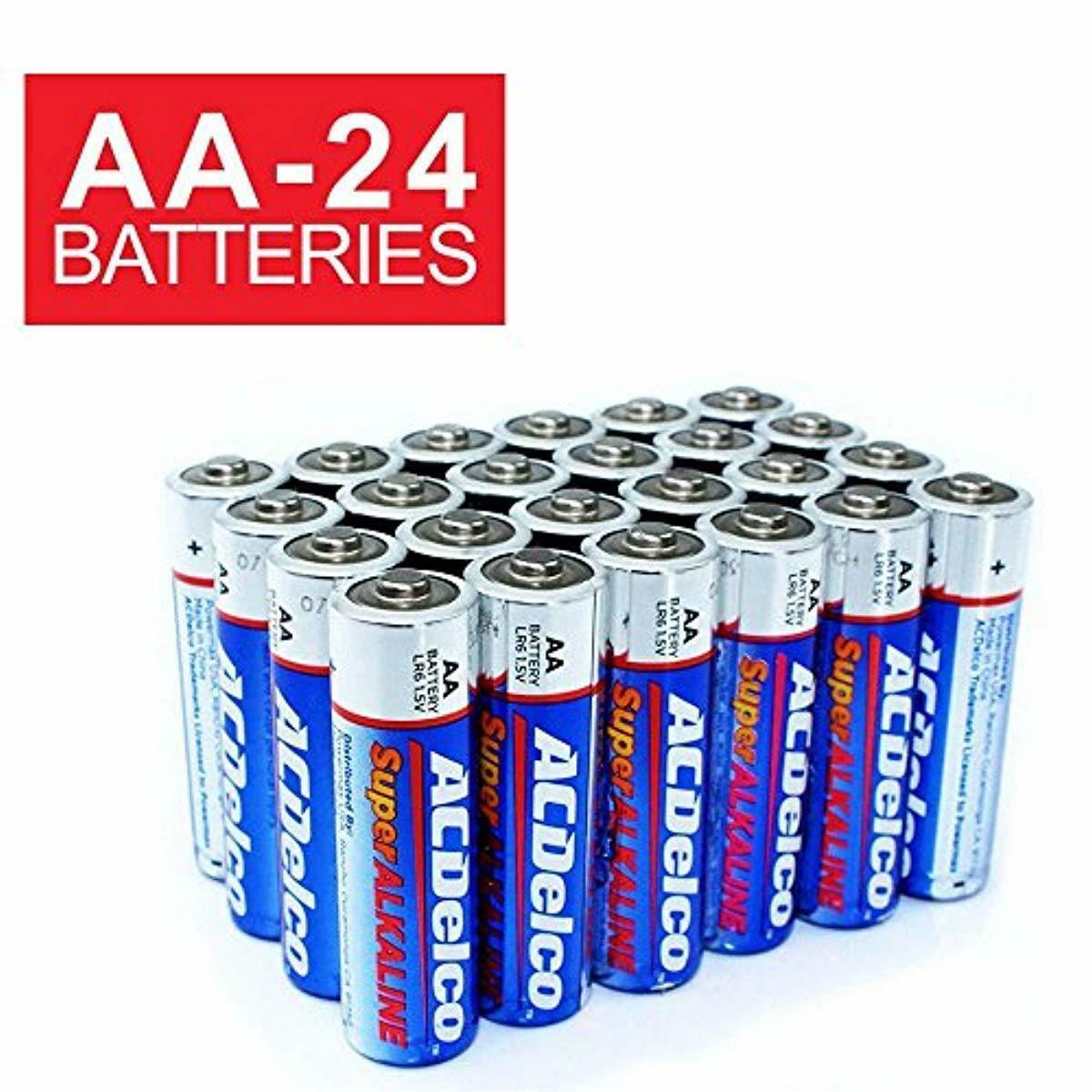 ACDelco AA Batteries, 24 Count, Alkaline Battery