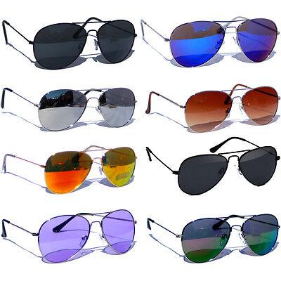 3 für 2 - Pilotenbrille Pornobrille Sonnenbrille verspiegelt Atze Herren Damen