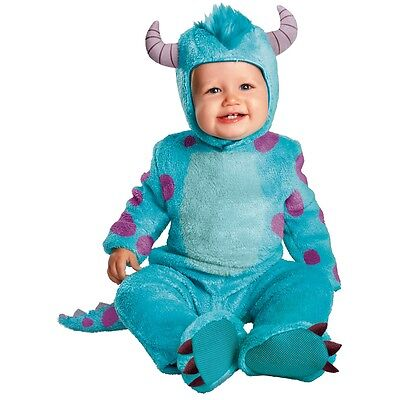Sulley Costume Baby Monsters Inc Halloween Fancy Dress