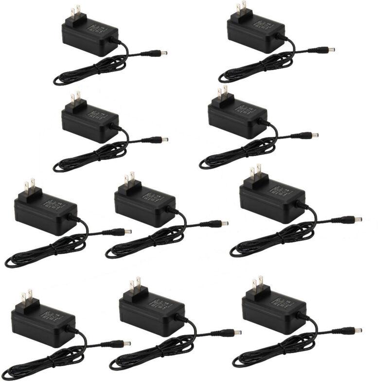 10Pcs X AC 100V-240V to DC 12V 2A  24W Switching Power Supply Adapter