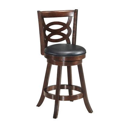 Kitchen Upholstered Bar Stool (Swivel Stool 24