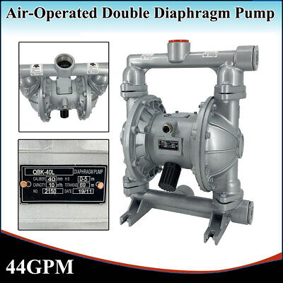 44gpm Air-operated Double Diaphragm Pump 1-12inletoutlet Industrial 115psi Us