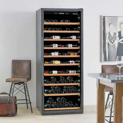 Wine Enthusiast Giant 300-Bottle Wine Cellar with VinoView Shelving Left Hinge