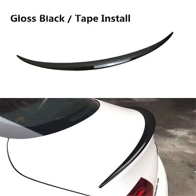 Rear Spoiler Wing Lip Black Fit For Mercedes-Benz C Class W205 Coupe 2016-2020