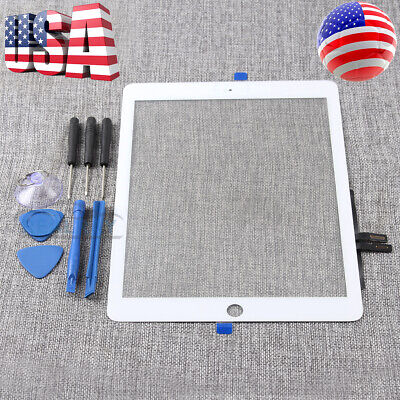 White LCD Touch Screen Digitizer Replacement For 2018 iPad 6 6th Gen A1893 A1954