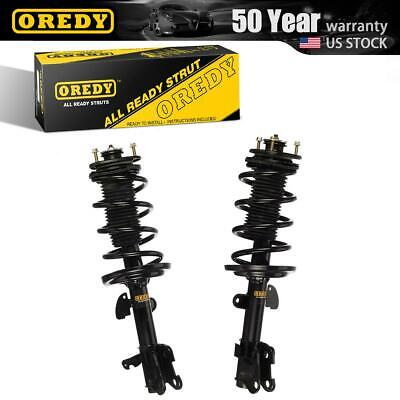 Front Pair Complete Shock Struts & Coil Spring Assembly For Acura MDX 07-13