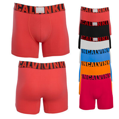 Calvin Klein Men's Boxer Briefs Steel Micro X Athletic Str