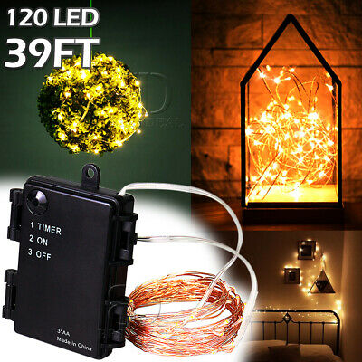 Outdoor Fairy String Light Firefly LED Light For Xmas Patio Garden Wedding