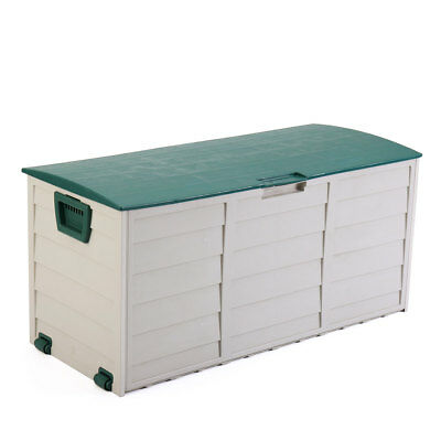 Garden Storage Tool Box Outdoor Shed Patio Deck Furniture Yard Container Utility