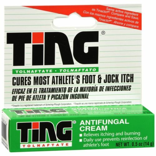 Ting Therapeutic Foot Care Cream, 0.5 Ounce
