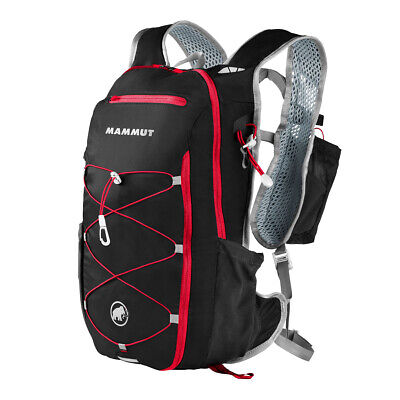 Mammut Nylon Rucksack (Mammut MTR 141 Advanced black-magma 10+2 L Trail Running Rucksack )