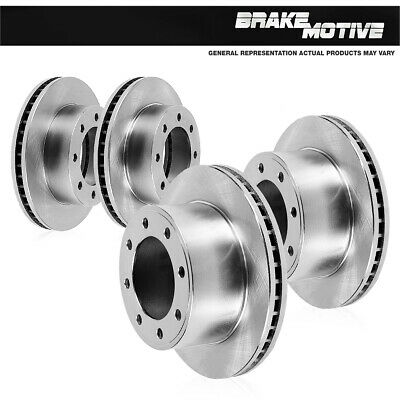 For Silverado 3500 Savana 3500 Sierra 3500 Front And Rear Premium Brake Rotors