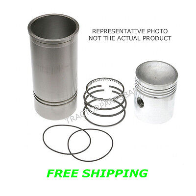 Allis Chalmers 4-18 Overbore Piston Sleeve Kit 170 175 Wd45 D17 G226 4 Cyl Gas