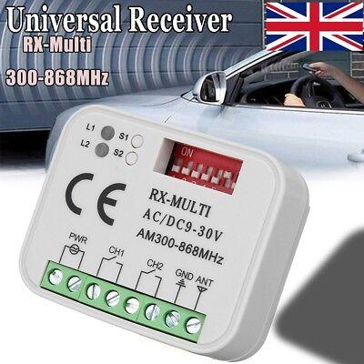 Universal Receiver Remote Control Compatible 300-868Mhz For Marantec