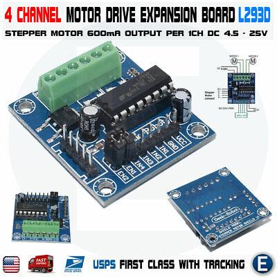 L293d Module Mini 4-channel Motor Drive Shield Expansion Stepper Board 4 Arduino