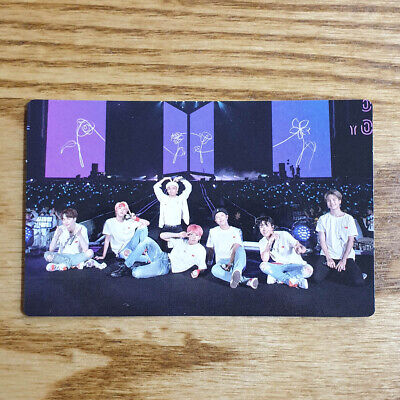 Group Cut Official Photocard BTS Love Yourself World Tour Seoul Blu-ray Genuine