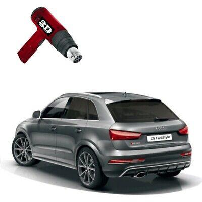 3D-vorgewölbt Tönungsfolie passgenau schwarz 85% Mercedes GLK X204 2008-2015