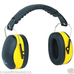 Noise cancelling ear muffs studying