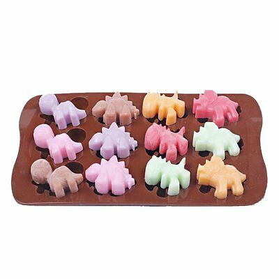 - Silicone Mold Chocolate Ice Cube Tray Fondant Molds DIY SOAP Mould Jello Candy