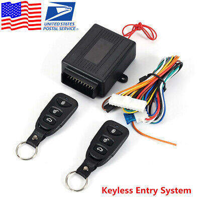 Universal Car Keyless Entry Remote Control Door Lock Security Alarm System (USA) Honda Alarm System
