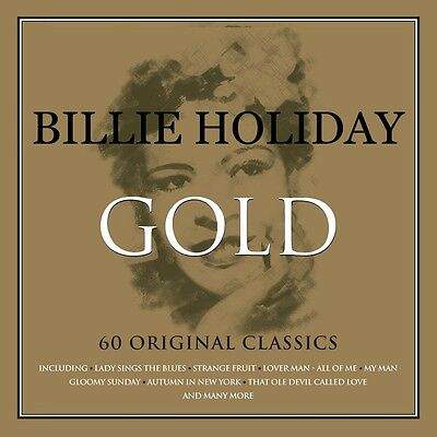 Billie Holiday GOLD Best Of 60 Original Classics ESSENTIAL COLLECTION New 3