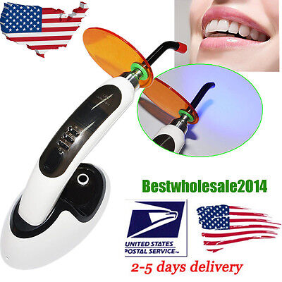 Usa Dental 10w Led Curing Light Lampmachine 1800mw Teeth Whiten Accelerator Aa