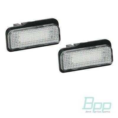 LED Kennzeichenbeleuchtung 2 Stück Mercedes C W203 S203 E W211 S211 CLS W219