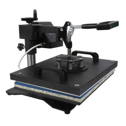 Transfer Sublimation T-Shirt Mug Hat Plate Cap Heat Press Machine 5 in 1