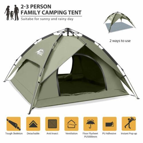Instant Pop Up Camping Zelte Strandzelt Beach Strandmuschel Hängematte Tarp