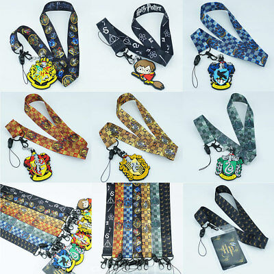 - Harry Potter Neck Lanyard Strap Cell Phone Rope KeyChain Lanyards 7 Style